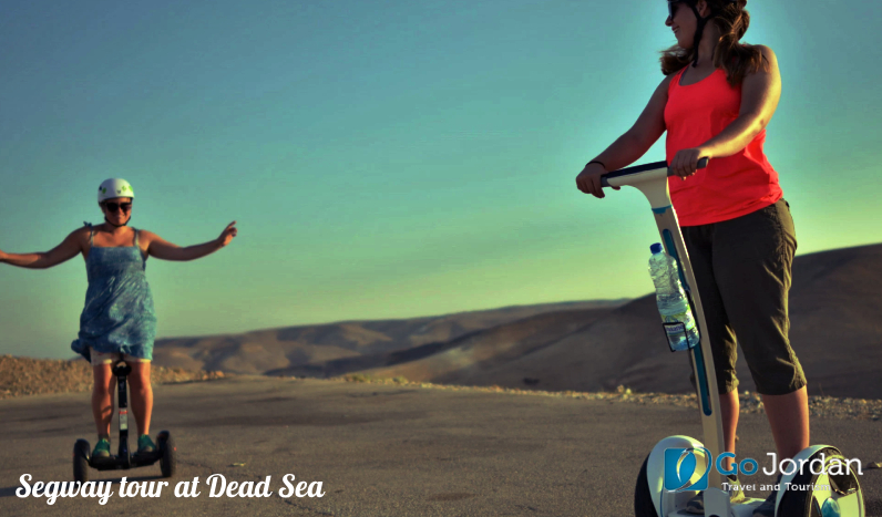 Segway tour at Dead Sea