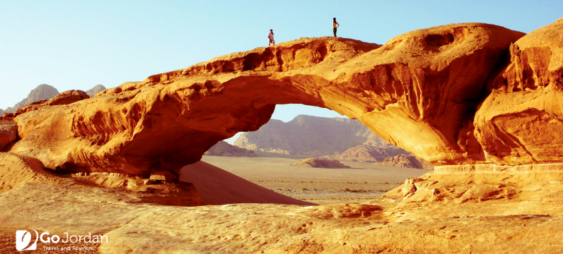 burdah rock bridge jordan